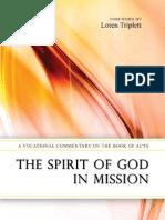 Spirit of God in Mission