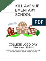 College Logo Webpage