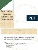 4. Lie Presentation