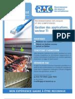 RAC gestion des applications TI au Cégep Saint-Laurent