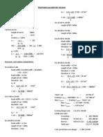 Proposed Geometric Design