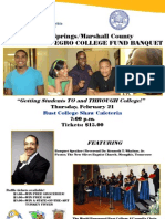 Holly Springs/Marshall County UNCF Banquet