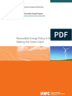 Renewable Energy Policy in Russia