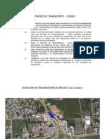 Centro de Transferencia para Transporte Público - Carnvales 2013