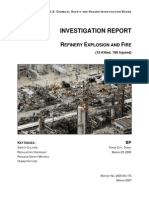 incident report of bp texas