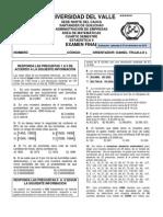 EXAMEN FINAL 1 DE ESTADÍSTICA II DICIEMBRE DE 2012-2