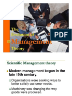 1-Teacher s Note the Evolution of Management Theory