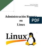 Administración Remota en GNU/Linux