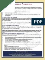 Stalking Awareness Fact Sheet