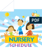 Nursery Schedule - 01/27/2013-04/28/2013