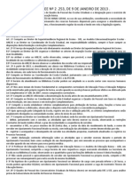 RESOLUÇÃO 2253/2013 - DESIGNAÇÕES