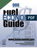 Fuel Economy Guide 2006