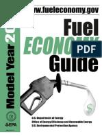 Fuel Economy Guide 2007