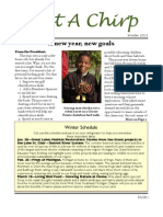 Grosse Pointe Audubon Winter 2013 Newsletter