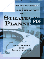 A Breakthrough in Strategic Planning