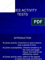 Caries Activity Tests 1