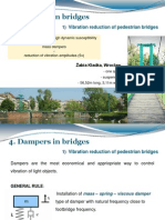 Dampers in bridges