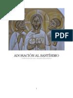 propuesta de adoración al Santísimo