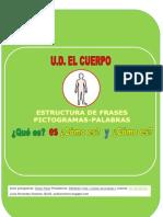 Cuadernillo estructura de frases UD El cuerpo