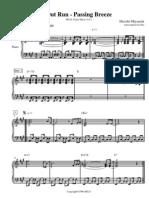 OutRun - Passing Breeze (sega video game sheet music piano)