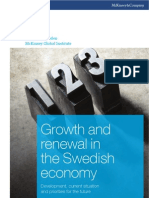 Growth and renewal in the Swedish economy