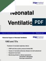 ventilacion neonatal