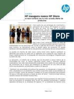 HP Inaugura Nuevo HP Store