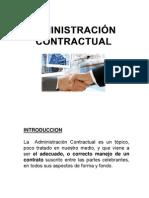Administracion Contractual