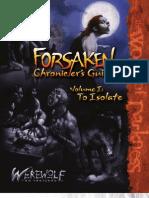 Werewolf the Forsaken - Forsaken Chronicler's Guide - I - To Isolate