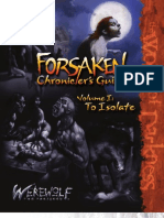 Werewolf the Forsaken - Forsaken Chronicler's Guide - I - To Isolate