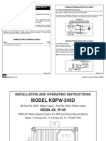 KBPW DC Drive Series Manual