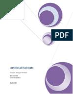 Artificial Habitats Angely
