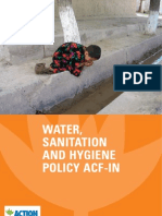 ACF Water Sanitation Hygiene Policy 2008