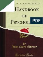 handbook psychology