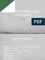 Trombo Embolismo Pulmonar