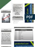 Folleto Matemáticas Acceso Universidad > 25 aprobarfacil.com