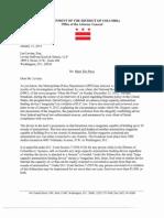 David Gregory Charging Letter