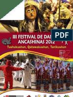 Revista III Festival Ancash 2012