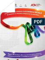 Politici, Practici Si Tendinte in Economia Sociala in Romania Si Uniunea Europeana in Ansamblu