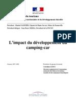 Normes de l'Arrêté Du 11/01/1993 Relatif Au Classement Des Campings