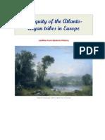 Antiquity of the Atlanto-Aryan Tribes in Europe