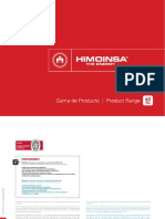 Himoinsa Product Range 60 Hz 2012