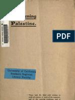 Awakening Palestine (1912)