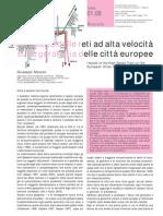 2008-Mazzeo-TeMA-01-01-Impatti della rete ferroviaria ad alta velocità sulla gerarchia delle città europee
