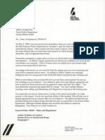 Joe Gray discipline letters