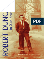 Robert Duncan in San Francisco Excerpt Cl