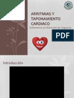 Arritmias y Taponamiento Cardiaco
