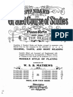 Standard Graded Course of Studies 2