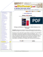 top 100 dictionary site