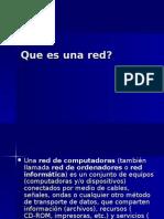 Que Es Una Red